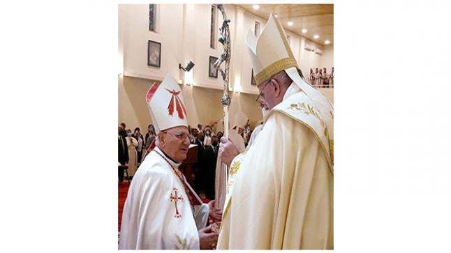 البطريرك ساكو يتسلم رسالة شكر من البابا فرنسيس