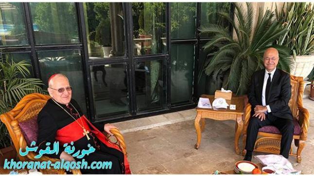 الكاردينال ساكو يلتقي فخامة السيد رئيس الجمهورية العراقية