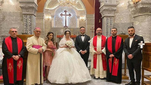 زواج مبارك يوسف & افروديت