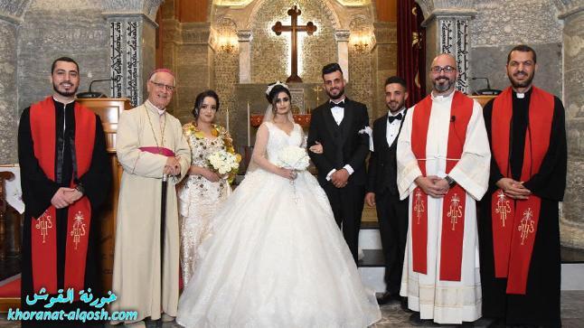 زواج مبارك ريموند & مريم