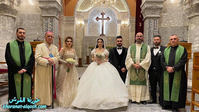 زواج مبارك سيمون & هيلدا