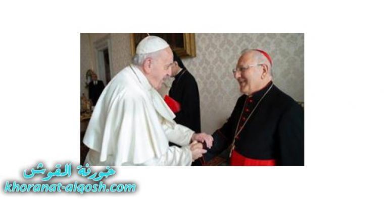 بطريرك الكلدان: البابا سيأتي للعراق حاملا رسالة سلام