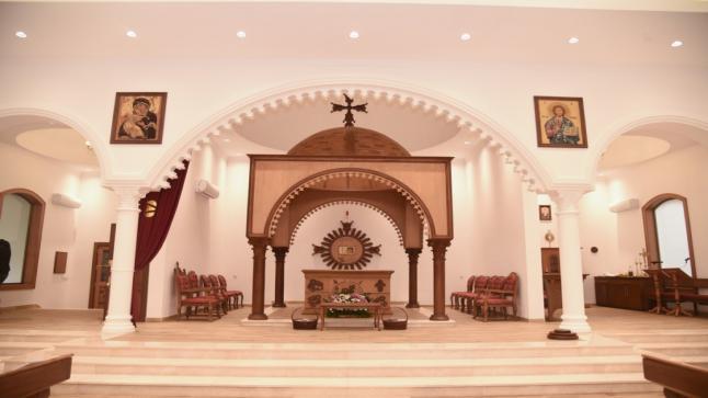 تكريس كنيسة القديس مار انطونيوس الكبير للرهبنة الأنطونيّة الهرمزديّة الكلدانيّة في عنكاوا