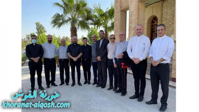 اليوم الثالث للقاء اساقفة وكهنة العراق الكلدان في عنكاوا