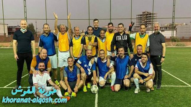 مباراة بكرة القدم بين الكهنة في ختام الرياضة الروحية