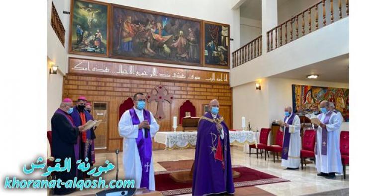 البطريرك ساكو يتراس صلاة السنة للمرحوم الاب صلاح خدور