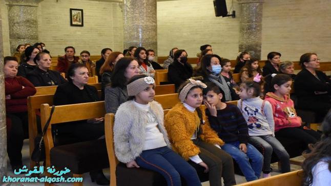 اللقاء الاول الخاص بشرح وتفسير الكتاب المقدس في كنيسة القوش