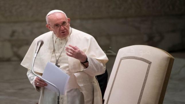 بابا الفاتيكان يبعث برسالة إلى الرئيس الأميركي جو بايدن
