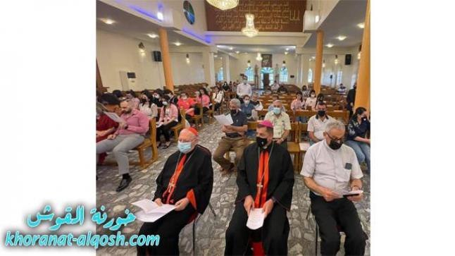 البطريرك ساكو يفتتح العام الدراسي لمعهد التثقيف المسيحي ببغداد