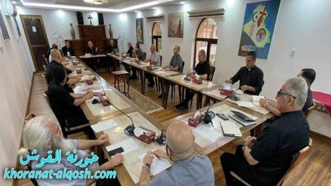 الاجتماع الدوري لكهنة ابرشية بغداد