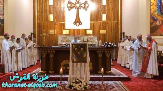 البطريرك ساكو يحتفل بالقداس باستقبال أيقونة العائلة المقدسة