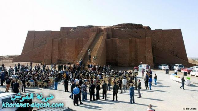 """مدينة أثرية عراقية تستعد لاستقبال """"الحجاج"""" المسيحيين"""