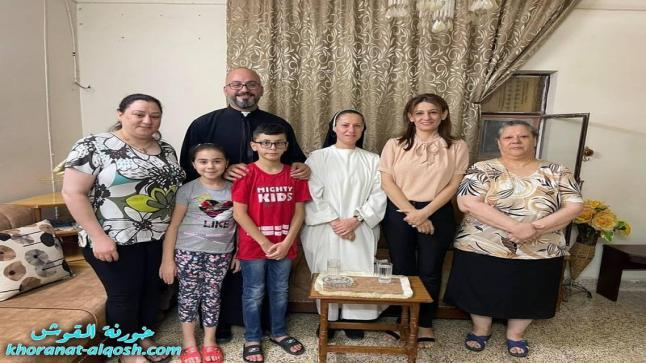 استمرار اللجنة الرعوية بزيارة عوائل القوش