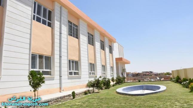 بعد اعادة ترميمها، افتتاح مدرسة القوش الاولى للبنين