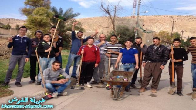 اتحاد الشبيبة العراقي في القوش: 106 حملة وسنستمر عند توفر الدعم المادي