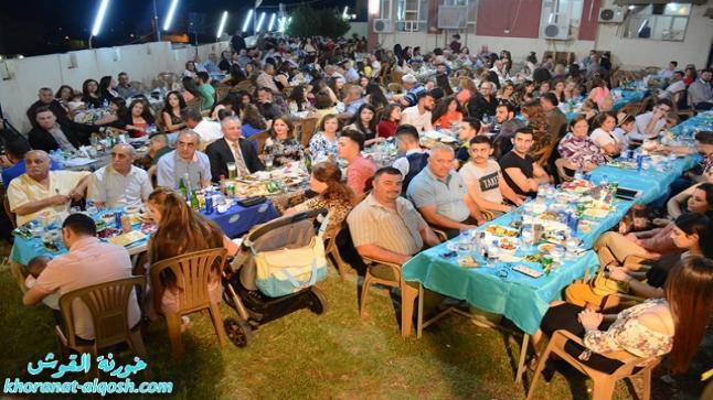 أمسية عائلية على شرف الطلبة المتفوقين لمدارس القوش للعام الدراسي 2017-2018