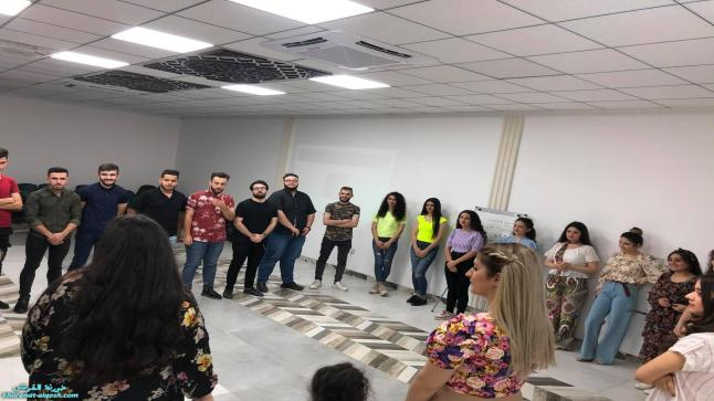 نشاط اجتماعي لأعضاء لقاء الشباب الجامعي في القوش