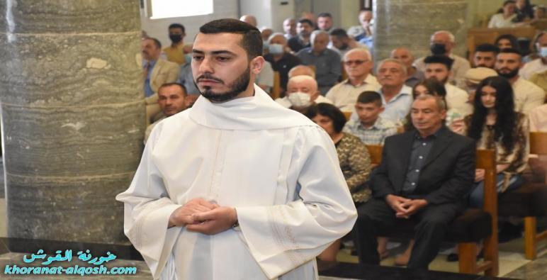 بالصور … مراسيم السيامة الانجيلية للشماس رودي صفار لكنيسة القوش