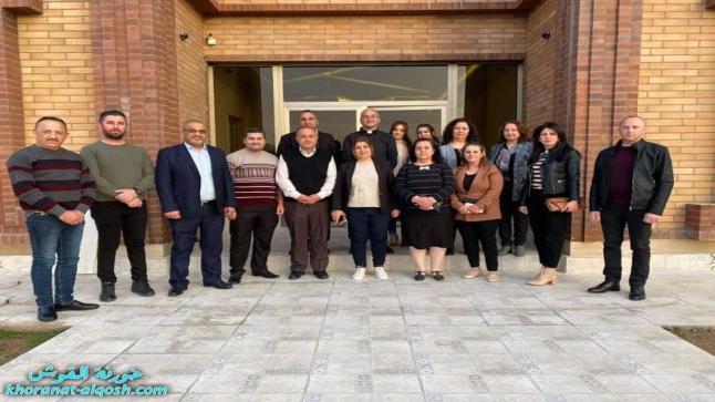 لقاء مع مدراء ادارات المدارس في القوش ومعلمي واساتذة التربية المسيحية
