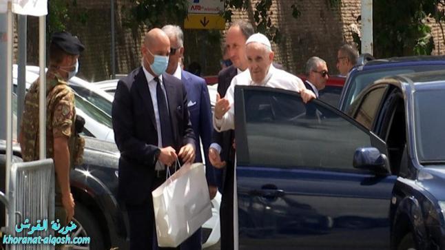 البابا يغادر المستشفى بعد خضوعه لجراحة ويعود الى الفاتيكان
