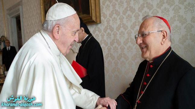 الكاردينال ساكو: ننتظر رسالة الرجاء التي سيحملها الأب الأقدس
