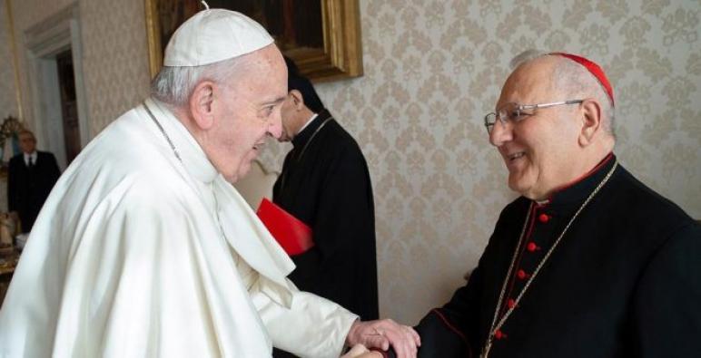 البطريرك لويس روفائيل ساكو: لقاء البابا فرنسيس بالمرجع الشيعي علي السيستاني قد يحمل مفاجأة للمؤمنين