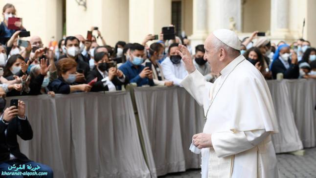 البابا: لا إنسانيّ أن ننغمس في العمل لدرجة ألا نجد وقتاً للصّلاة