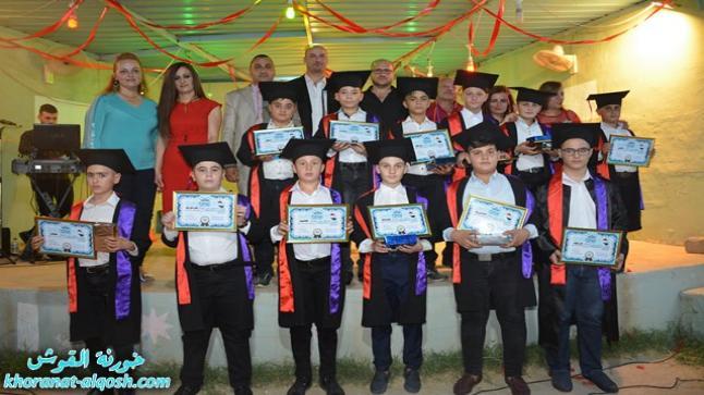للعام الثاني على التوالي، مدرسة القوش الاولى تحتفل بأمسية على شرف تلاميذها خريجي السادس