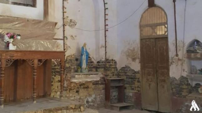 بالصور.. كنيسة مار يوسف في ميسان تحكي ثمانين عاماً من العشق المسيحي للعراق