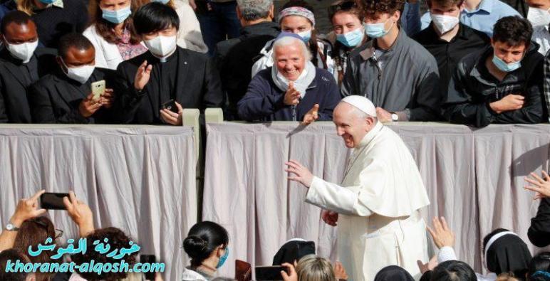 البابا فرنسيس: إنَّ الدعوة المسيحية هي نضال وقرار بالوقوف تحت راية المسيح