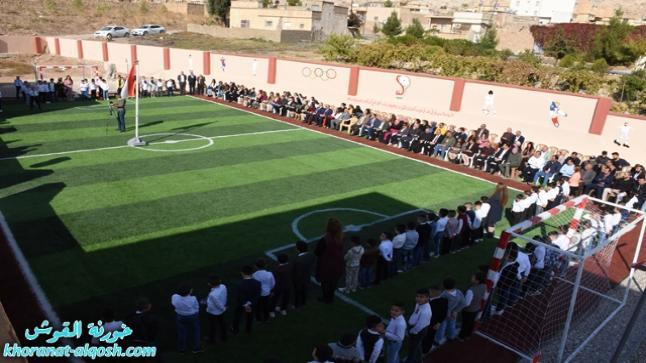 في القوش، افتتاح أول ملعب سباعي على مستوى مدارس تربية نينوى