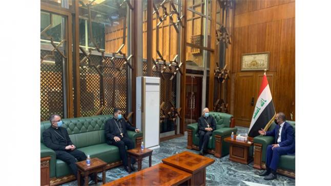 البطريرك ساكو يزور أمين بغداد
