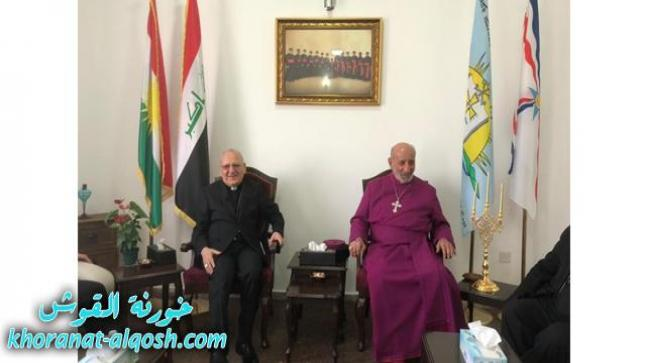 البطريرك ساكو يزور قداسة البطريرك مار كوركيس الثالث صليوا