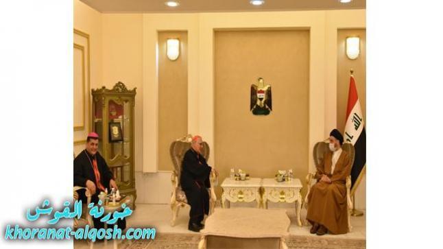 الكاردينال ساكو يزور سماحة السيد عمار الحكيم