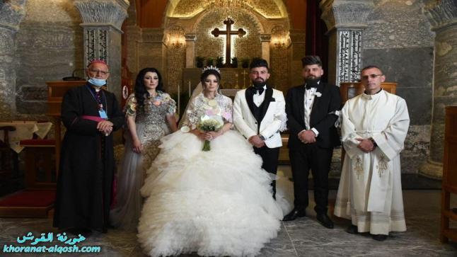 زواج مبارك ميرون & مريم