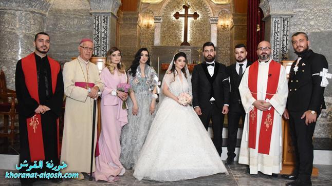 زواج مبارك ليون & ميري