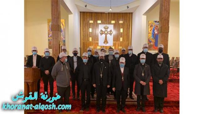 اجتماع كهنة بغداد لمواصلة تحضيرات زيارة البابا