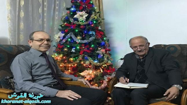 لقاء مع الاستاذ الدكتور عامر ابشاره