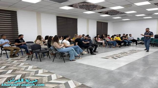 نشاط عن الرعاية الذاتية لأعضاء لقاء الشباب الجامعي في القوش
