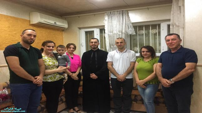 استمرار الزيارات الرعوية لكنيسة القوش