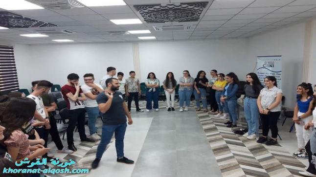 فريق شباب للمسيح يقيم لقاء ثقافي ترفيهي لأعضاء لقاء الاعدادية والمتوسطة في القوش