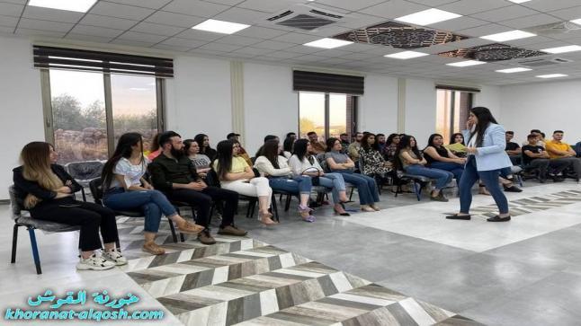 حلقة حوارية لأعضاء لقاء الشباب الجامعي في القوش