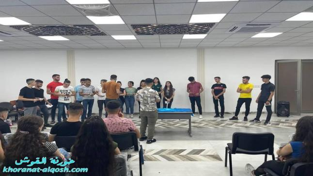 لقاء ترفيهي لأعضاء لقاء الشباب للمرحلة الاعدادية في القوش