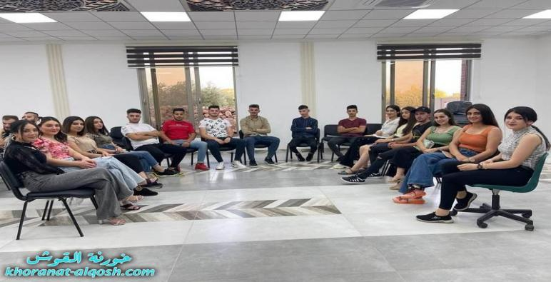 نشاط ترفيهي لأعضاء لقاء الشباب الجامعي في القوش