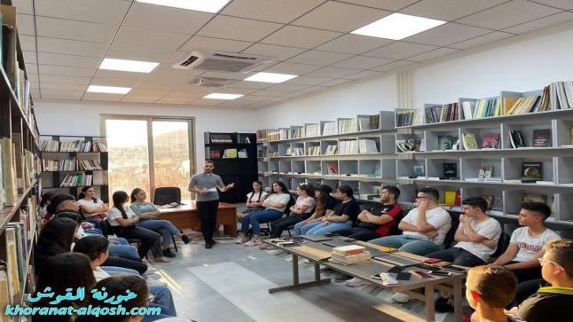محاضرة لأعضاء لقاء الشباب للمرحلة المتوسطة والاعدادية في القوش