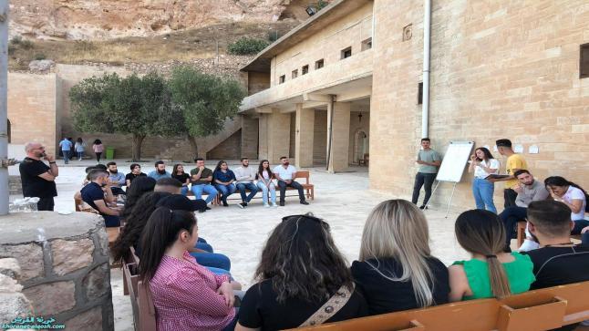 نشاط ثقافي لأعضاء لقاء الشباب الجامعي في القوش