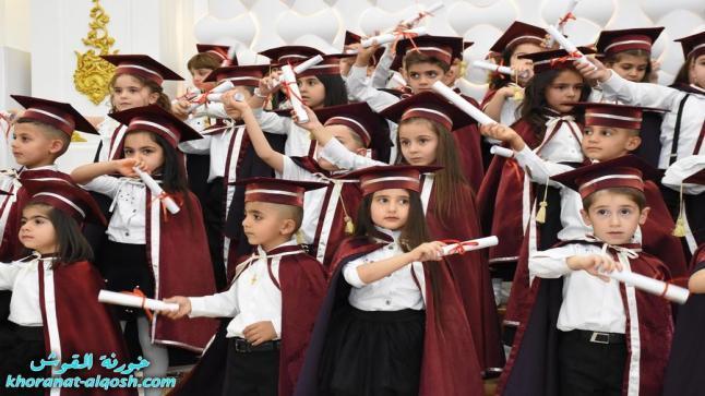 حفل تخرج اطفال روضة بيت الملائكة للطفولة في القوش
