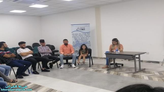 """محاضرة بعنوان """"أسلوب الحوار و أحترام الرأي الأخر"""" لأعضاء لقاء الشباب الجامعي في القوش"""